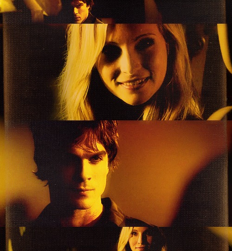 Caroline and damon