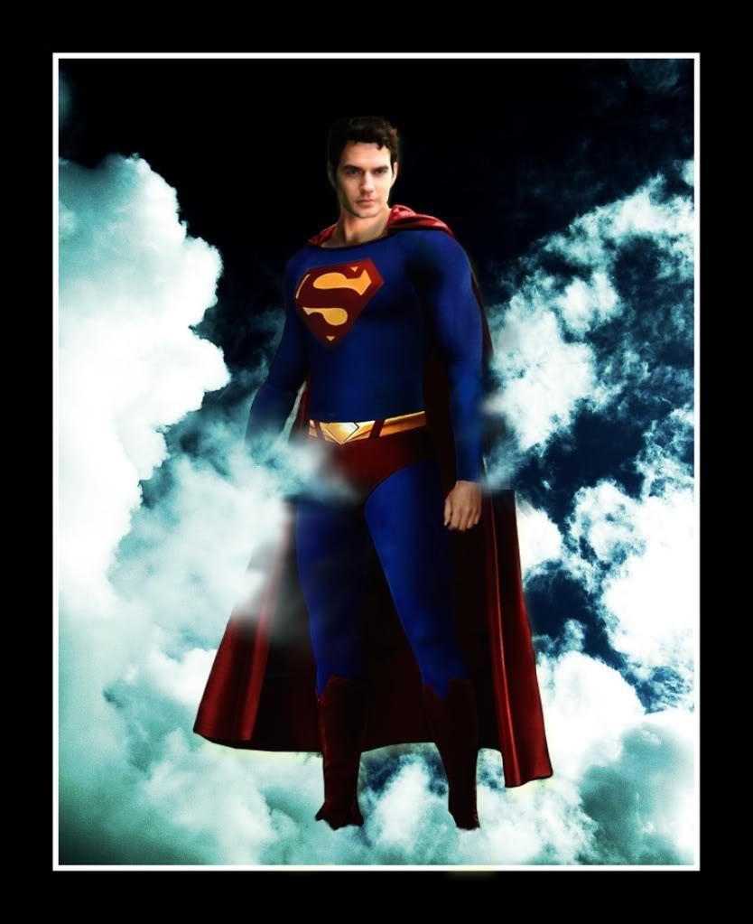 Cavill as Superman