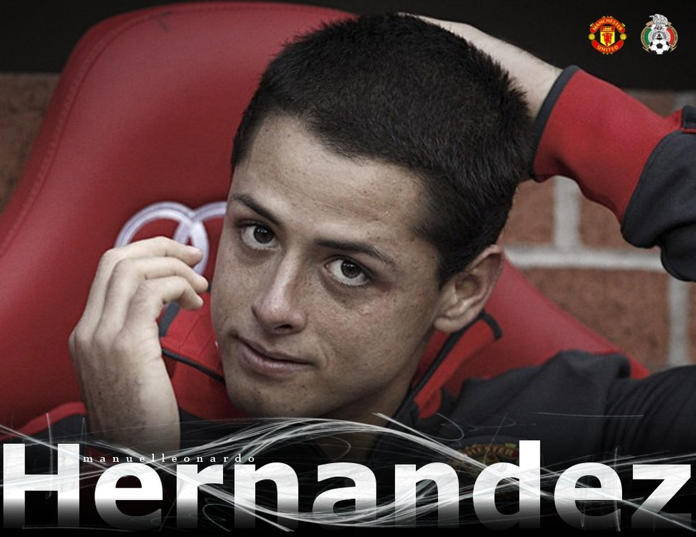 Chicharito Manchester United