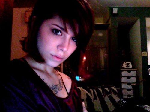 Christina with short hair