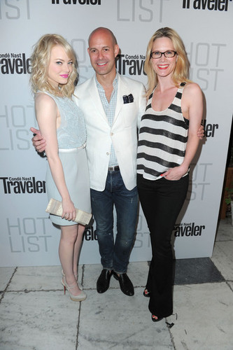 Conde Nast Traveler Annual Hot daftar Party