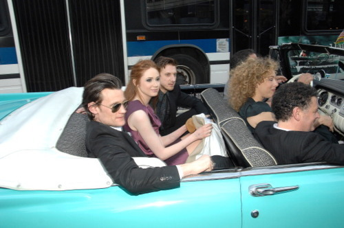 DW cast at NYC premiere 11/4/11