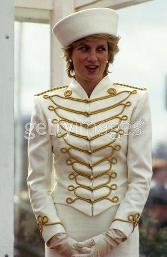 Diana At Sandhurst