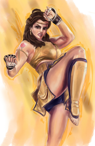 disney Fighter: Belle