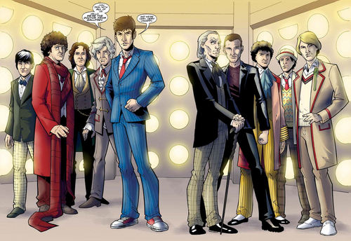 Dr. Who Cartoon - doctor-who Photo