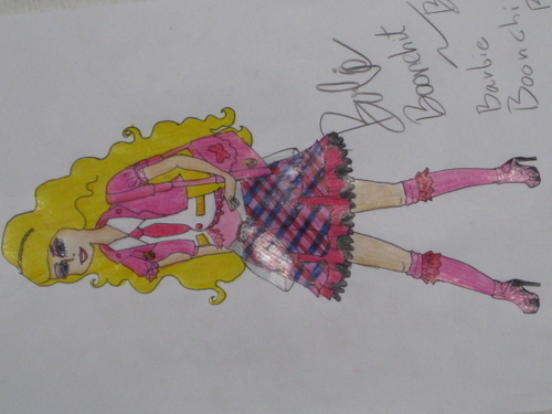 Dress is my own design.+++