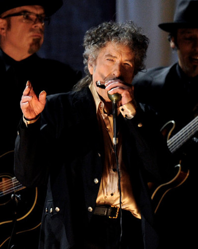 Dylan at the 53rd Annual Grammy Awards