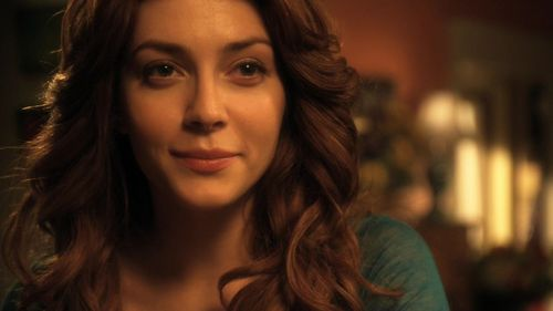 Elena as Mera on smallville