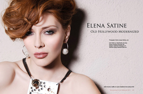 Elena in Regard Magazine