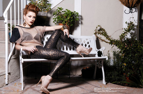 Elena Satine پیپر وال entitled Elena in Regard Magazine