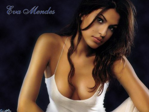 eva mendes wallpaper probably with attractiveness, a bustier, and a portrait called Eva Mendes