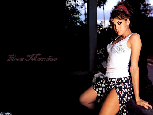 eva mendes wallpaper probably with a koktil, koktail dress entitled Eva Mendes