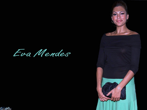 Eva Mendes wallpaper possibly containing a cocktail dress called Eva Mendes