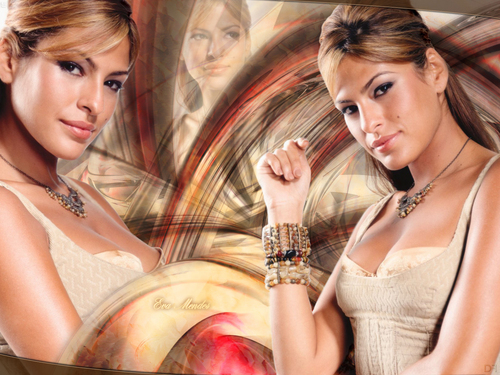 Eva Mendes wallpaper possibly with a portrait titled Eva Mendes
