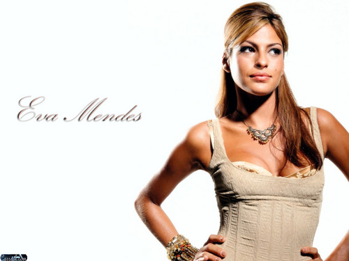 Eva Mendes wallpaper possibly containing a cocktail dress entitled Eva Mendes