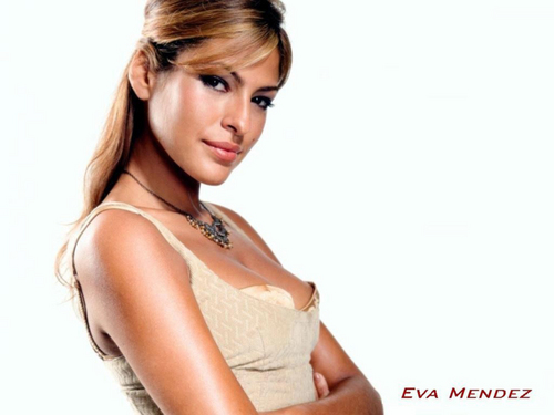 eva mendes wallpaper possibly containing attractiveness and a portrait titled Eva Mendes