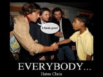 Everybody hates chris :DDDD so does Sam