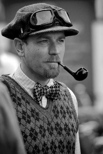 Ewan at Tweed Run, Londres