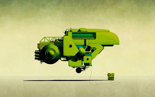 Green Robotics Wallpaper - green Wallpaper