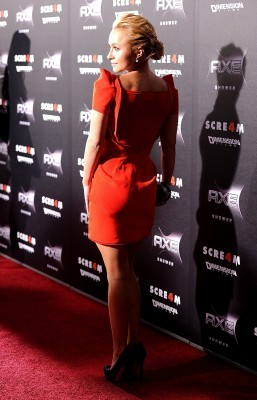 Hayden @ Scream 4 LA Premiere