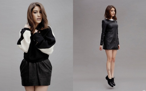 ASK-I MEMNU wallpaper with a well dressed person and a hip boot titled Hazal Kaya