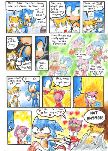 Ice cream Sonic comic!