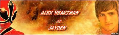 Jayden-the red Samurai ranger