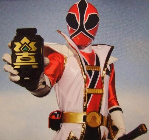 Jayden-the red Samurai ranger