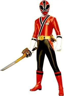 Power Rangers Samurai wallpaper possibly with a hip boot and a diving suit titled Jayden- the red ranger