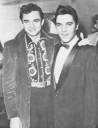 Johnny Cash images Johnny Cash And Elvis Presley wallpaper and background photos