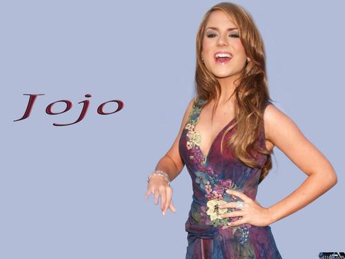 JoJo Levesque 바탕화면 probably containing a 공식 만찬, 저녁 식사 dress, a 칵테일 dress, and a strapless titled Jojo