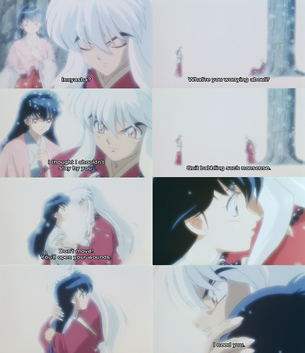 Kagome and Inuyasha♥