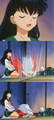 Kagome and Inuyasha - inuyasha-and-kagome photo