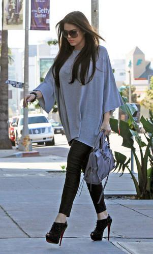 Khloe Kardashian Out In West Hollywood