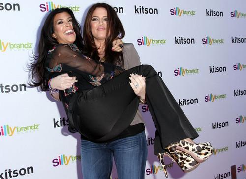 "Kim, Kourtney and Khloe Launch Their ""Kardashian Glam"" Pack Of Silly Bandz"