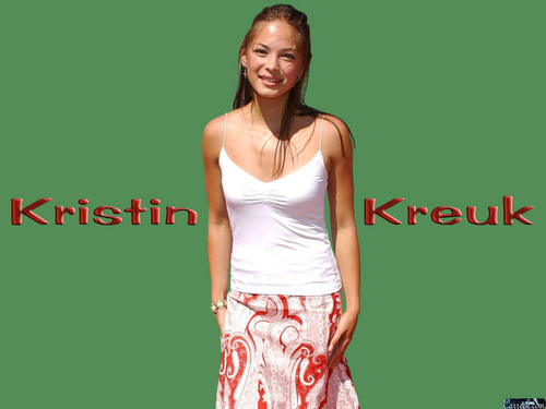 Kristin Kreuk wallpaper entitled Kristin Kreuk