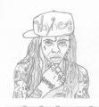 Lil Wayne - lil-wayne fan art
