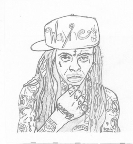 Lil' Wayne wallpaper possibly containing anime called Lil Wayne