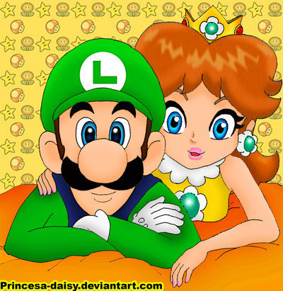 Daisy And Luigi Images Luigi And Daisy Love Story