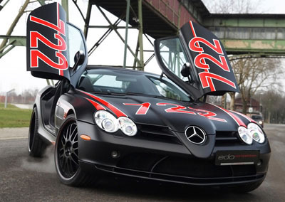 MERCEDES - BENZ SLR BLACK 《绿箭侠》 由 EDO COMPETITION