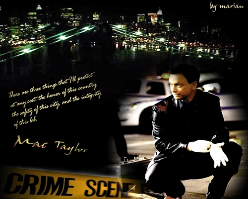 Mac Taylor - Crime scene