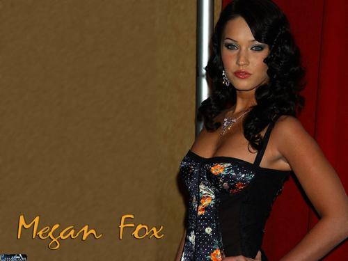 Megan fox, mbweha
