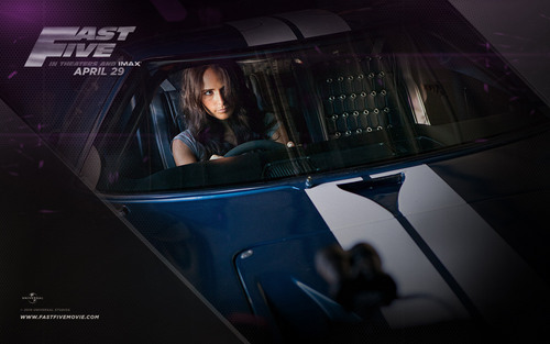 Mia Toretto - Fast Five - brian-oconner-and-mia-toretto Wallpaper