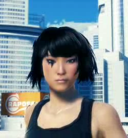 Mirror's Edge wallpaper with a portrait titled Mirror's Edge