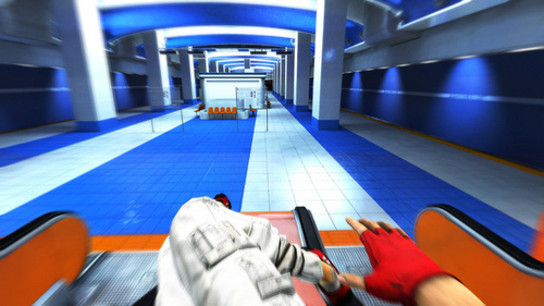 Mirror's Edge wallpaper possibly with a penal institution entitled Mirror's Edge