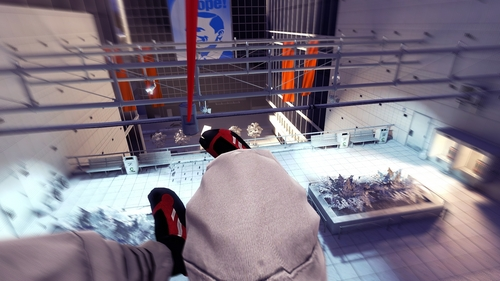 Mirror's Edge wallpaper probably with a holding cell, a penal institution, and a jail entitled Mirror's Edge