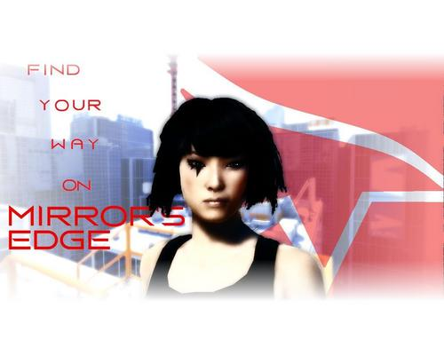 Mirror's Edge wallpaper probably containing a portrait titled Mirror's Edge