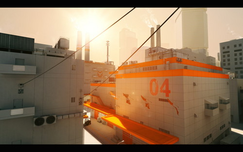 Mirror's Edge hình nền probably with an icebreaker, a dry dock, and a car ferry entitled Mirror's Edge