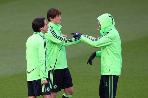 Nando - Chelsea Training