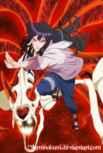 Naruto Kyuubi and Hinata